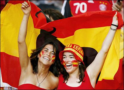 Miudas Espanholas, mundial de futebol