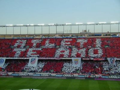 frente atletico de madrid: