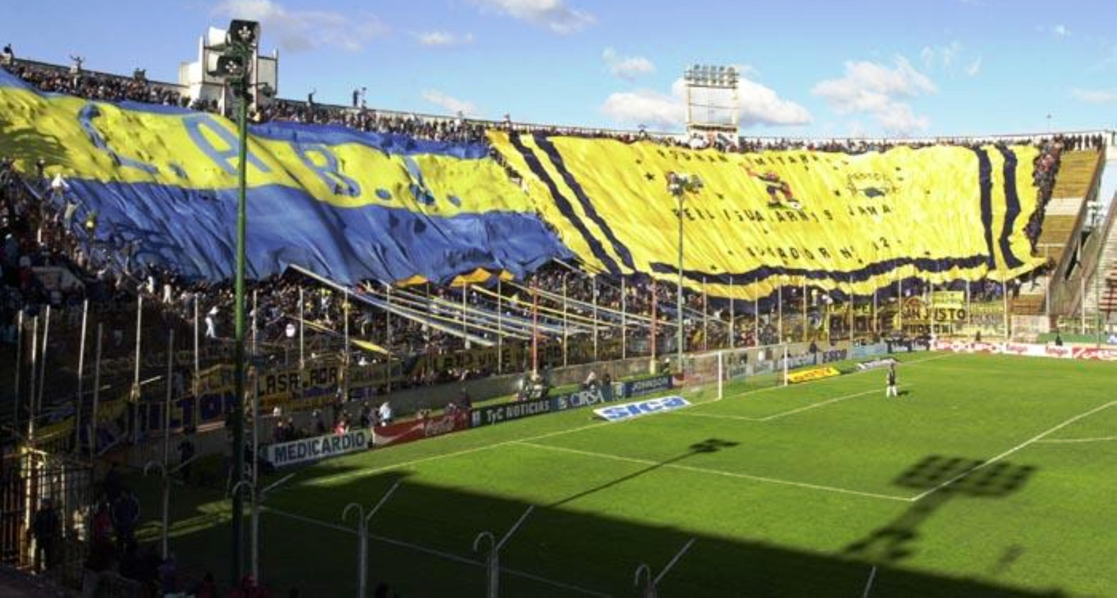 Telones del futol argentino deportes taringa for Puerta 2 cancha de boca