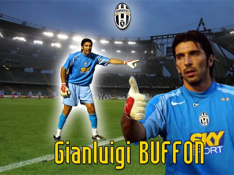 Gianluigi Buffon top Italian goalkeeper